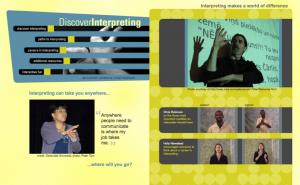 Discover Interpreting website