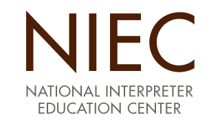NIEC national interpreter education center logo